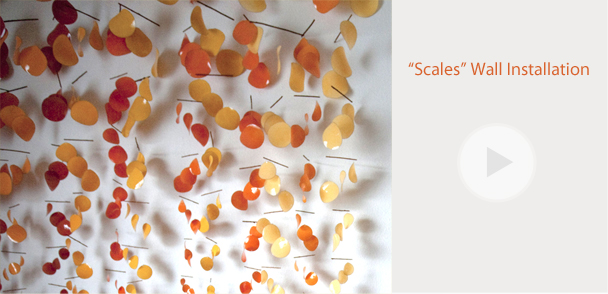 """""""Scales"""" Wall Installation"""